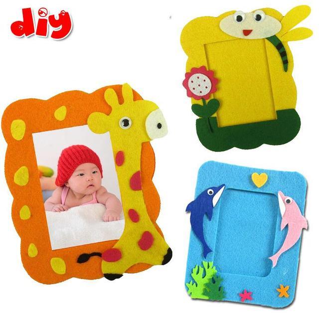 aliexpress com buy 5 pcs diy handmade fabric photo frames for