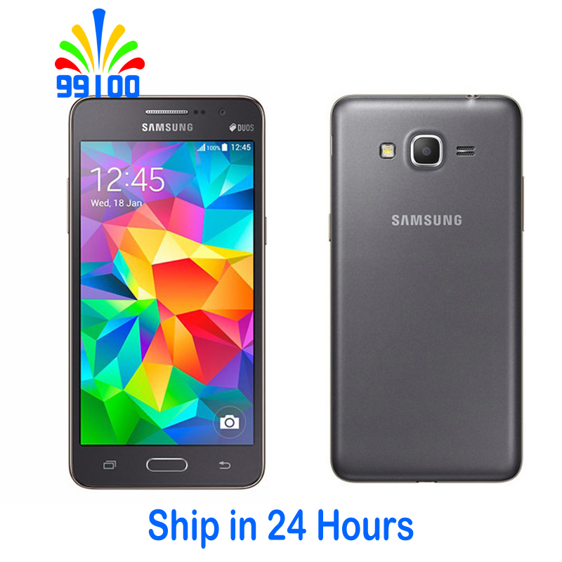 Samsung Galaxy Grand Prime G530H 8gb 1gb WCDMA/GSM Quad Core 8mp Used Cell-Phone Phone-Refurbished