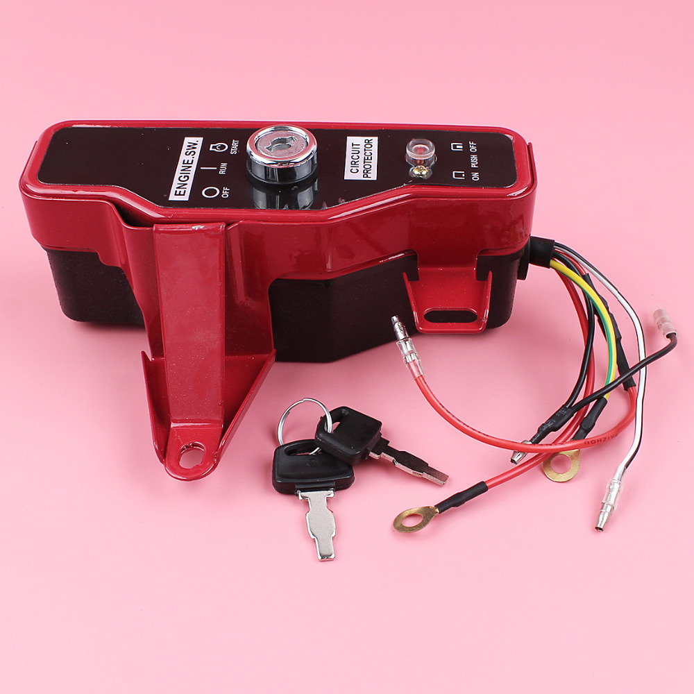 Ignition Switch Box With Keys For Honda GX160 GX200 5.5HP 6.5HP GX 160 200 Lawn Mower Small Gas Engine Motor Part