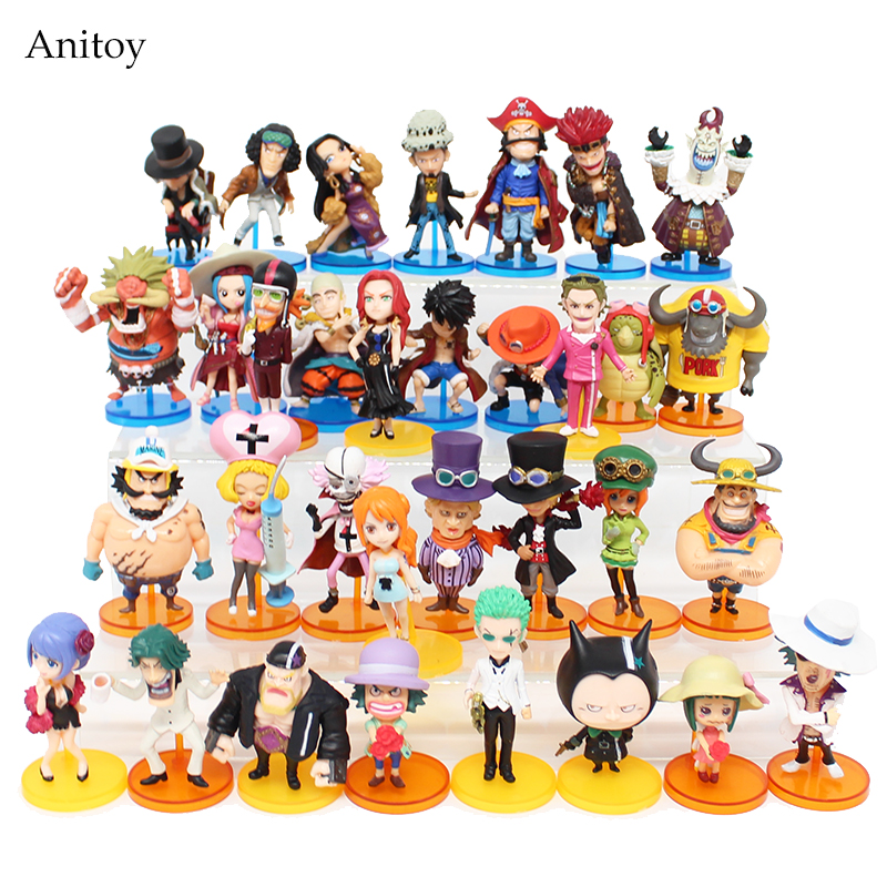 Anime One Piece Sabo Zoro Nami Luffy Moria Ace Enel Oz Law Boa Hancock Rob Lucci PVC Figure Collectible Model Toy 6-8cm KT3999 one piece action figure roronoa zoro led light figuarts zero model toy 200mm pvc toy one piece anime zoro figurine diorama