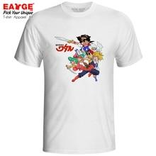 Mashin Hero Wataru Trinity T Shirt Himiko Toraoh Retro Anime Rainbow Fantasia Cool Design Pop T-shirt Hip Hop Men Women Top Tee