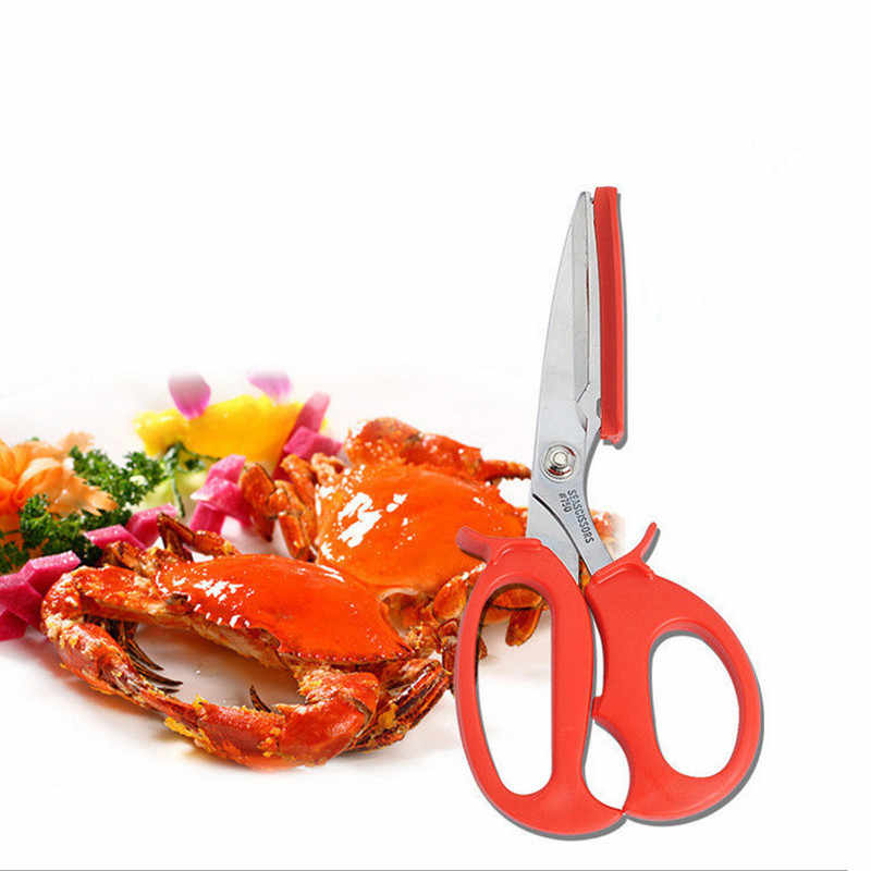 Lobster Crab Shell Leg Seafood peeler Shellfish Cracker Shrimp Tool prawn Scissor Shear Snip Kitchen