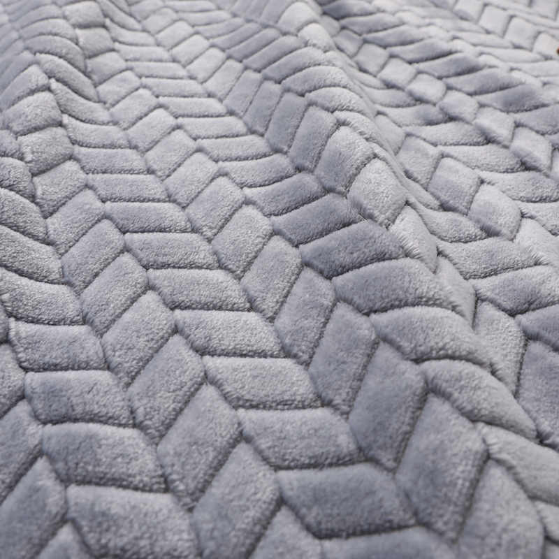 Роскошная супер мягкая меховая подкладка одеяло из кораллового флиса однотонное Двустороннее пальто из искусственного меха норки для детей и взрослых теплое одеяло s на кровати