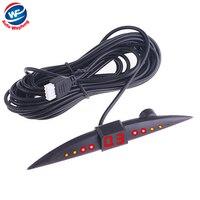 디지털 LED 디스플레이 주차 센서 자동차 주차 시스템 w/4 센서/레이더/자동차 반전 무료 배송 도매 R8