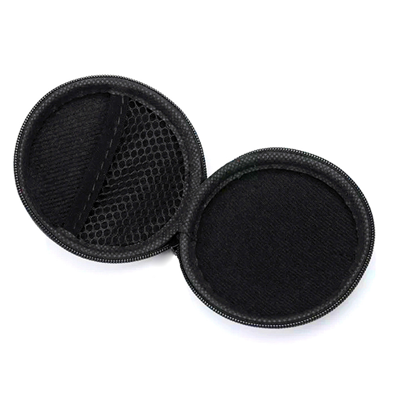 RACAHOO Earphone Holder Case Storage Carrying Hard Bag Box Case for Earphone Headphone Accessories Earbuds memory Card USB cable5