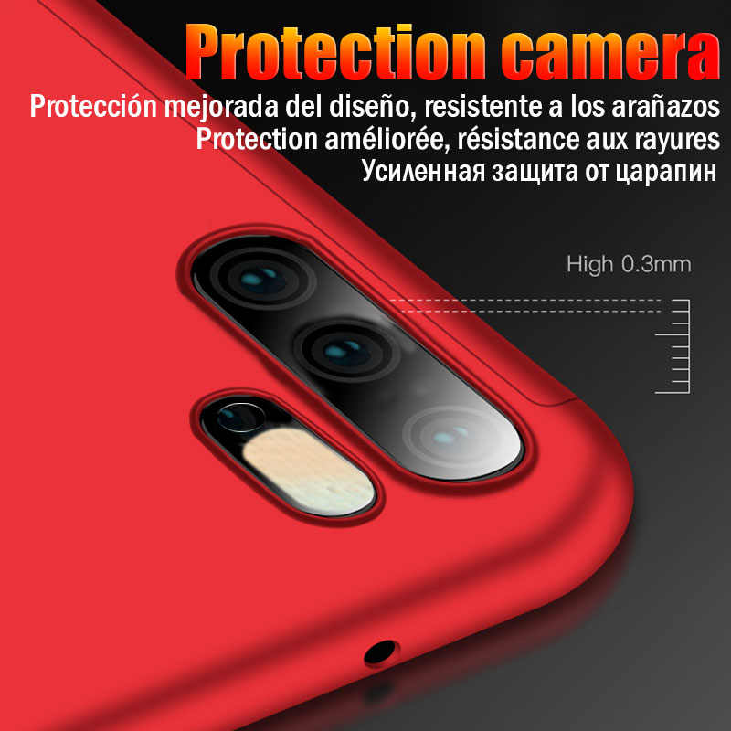 Luxury 360 Full Cover Case For Huawei P20 P30 P10 Lite Mate 20 10 Pro Case For Huawei P Smart 2019 P9 P10 Plus Nova 3 3i Cover