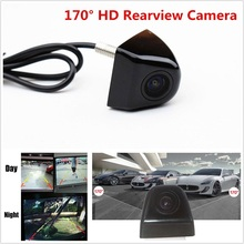 12V Car Rear View Camera RCA Interface Rearview Camera CMOS Mini Auto Parking Reverse Backup Camera DVR Automatic White Balance