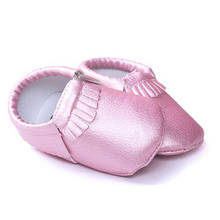 Newborn Baby Boy Girl Shoes Toddler Moccasin Scarpette Neonata Barefoot Crib Shoes Infant Polo Items First Walkers 503071