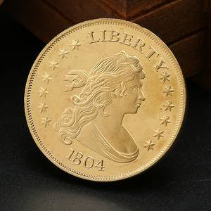 1804 American Liberty Numismatics Silver Foreign Commemorative Coin Collecting Copper Crafts Commemorative Coin(China)