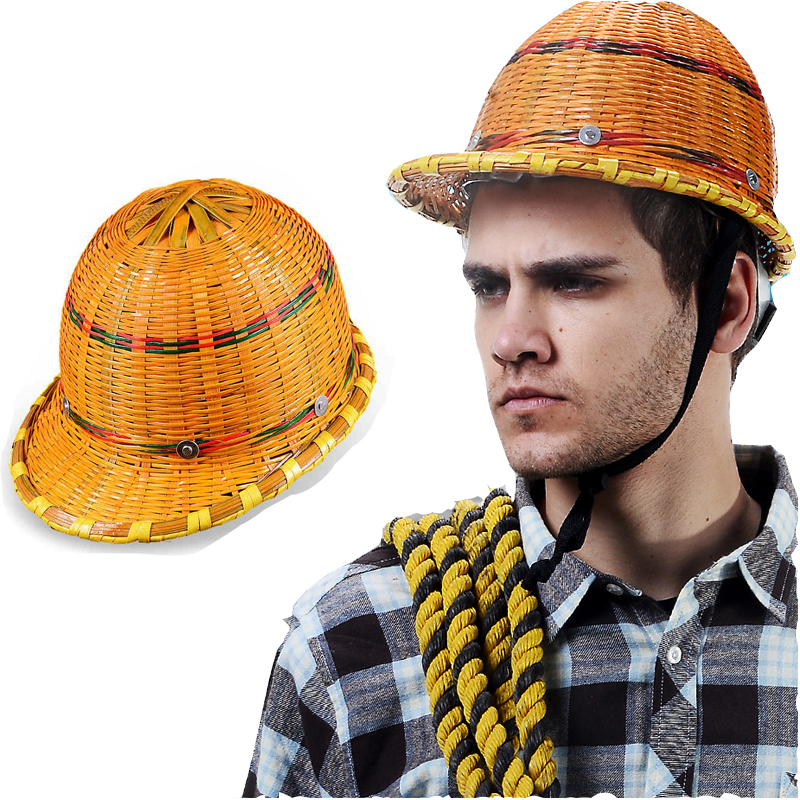 novo 2019 verao guarda sol de bambu trabalho capacete seguranca local construcao ventilacao mineiro construcao chapeu