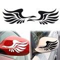2 pcs New Design Personalidade Asas de Fogo Espelho Lateral Do Carro Styling Adesivos Decorativos Frete Grátis