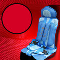 Car child safety seat baby infant 0-4 years of age 3-12 years old with a vehicle-borne improvised portable chairs