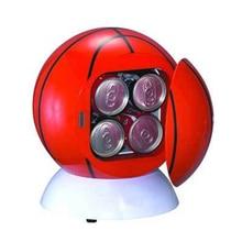 Olyair mini ball car fridge portable fridge single door car cooler 3L thermoelectric car fridge dc 12V