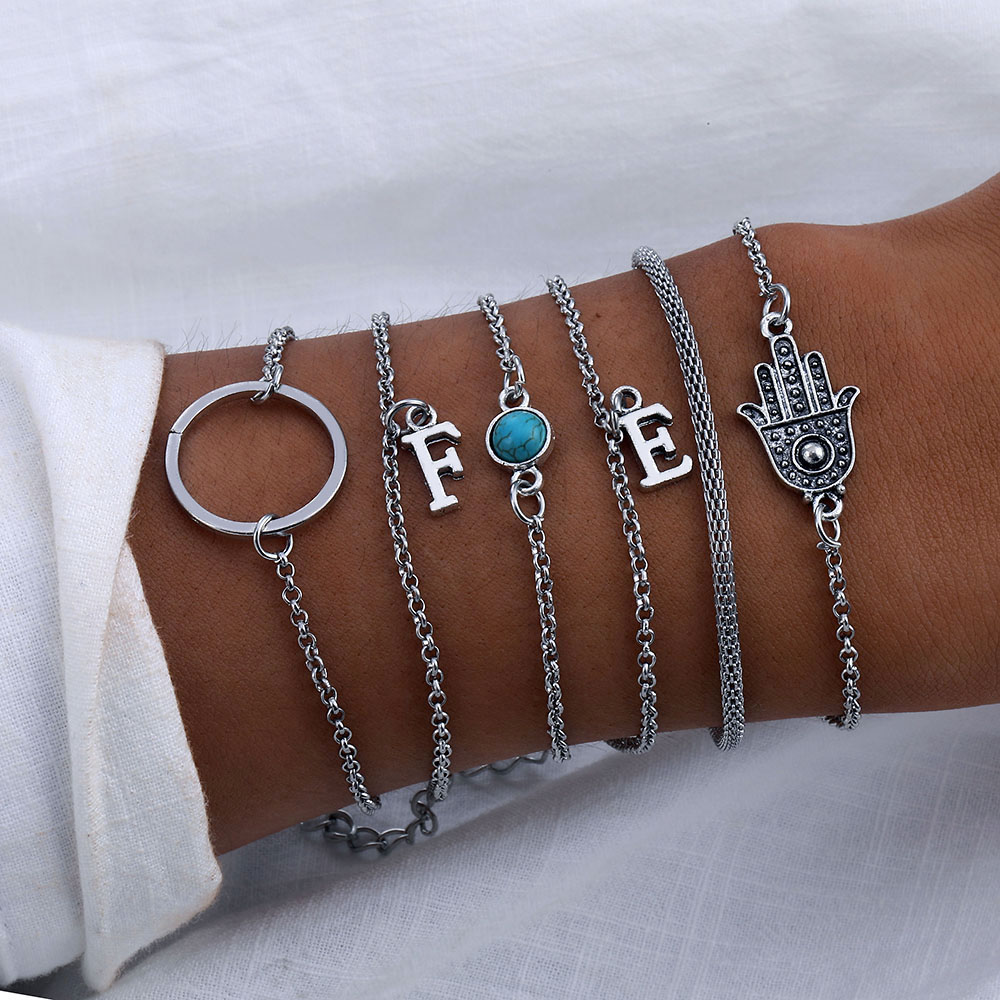 f394173a1cb63 Worldwide delivery stacking bracelet set in NaBaRa Online
