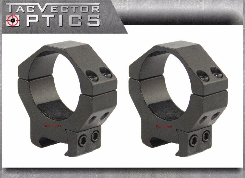 Vector Opitcs 34mm o 35mm alcance perfil bajo Picatinny 21mm anillo de montaje Fit saltadores NightForce Vortex etc mira telescópica