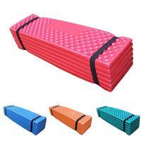 LumiParty Ultralight Foam Outdoor Camping Mat Easy Folding Beach Tent Sleeping Pad Waterproof Mattress 190 57