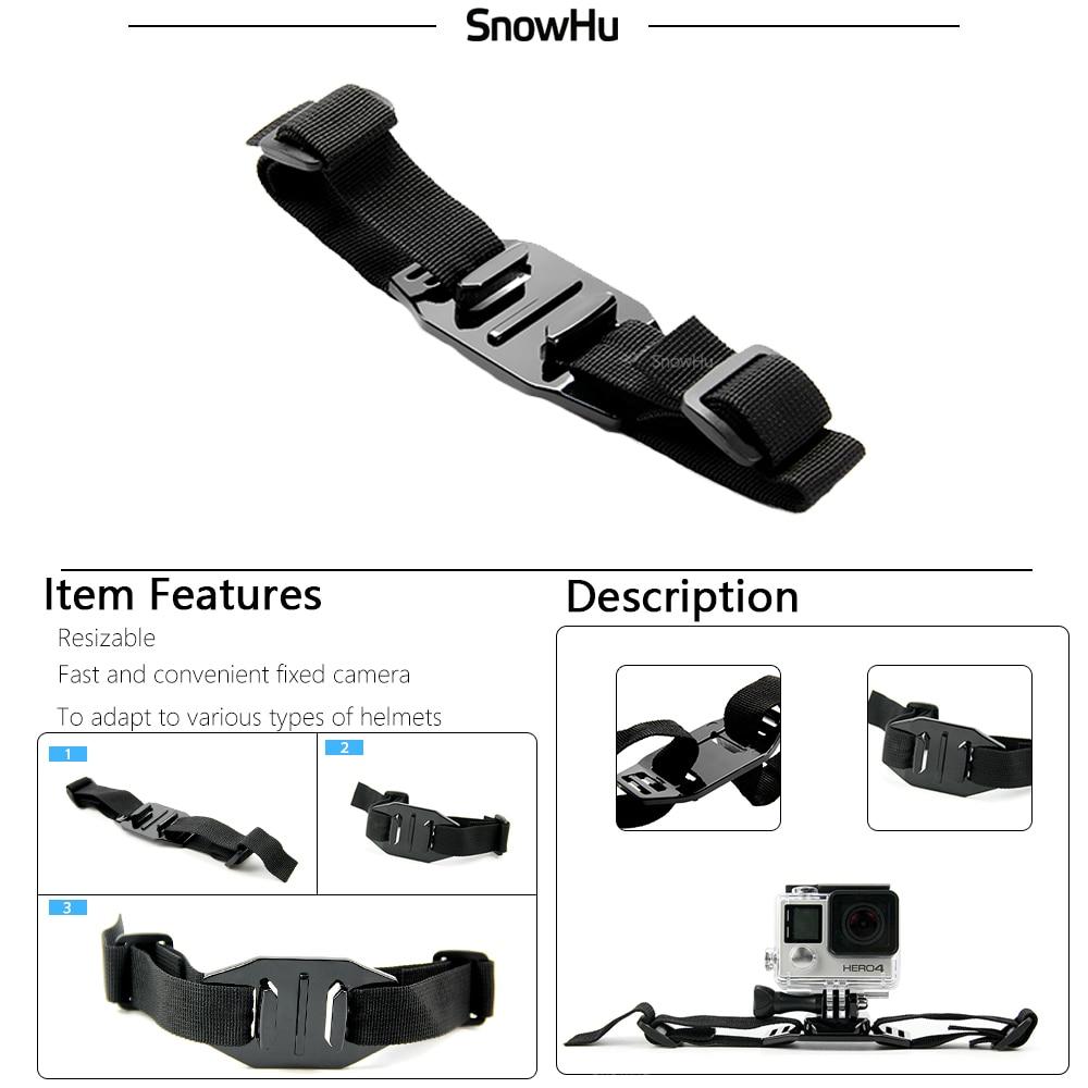 Accesorios de la cámara de acción SnowHu Juego de montaje para - Cámara y foto - foto 4