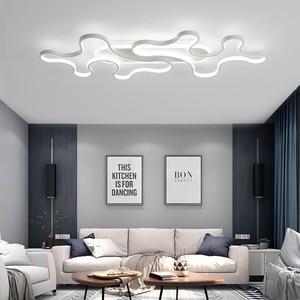 Image 4 - Chandelier Lighting for Living room Bedroom AC85 265V Cloud Lustre for Corridor Entrance Aisle Modern LED Lustre Chandelier