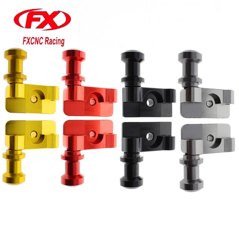 FX CNC Motorcycle Aluminum CNC Swingarm Spool Adapters Fit For Honda CBR250R CBR300R CBR 250R 300R Motorcycle Accessories Mounts