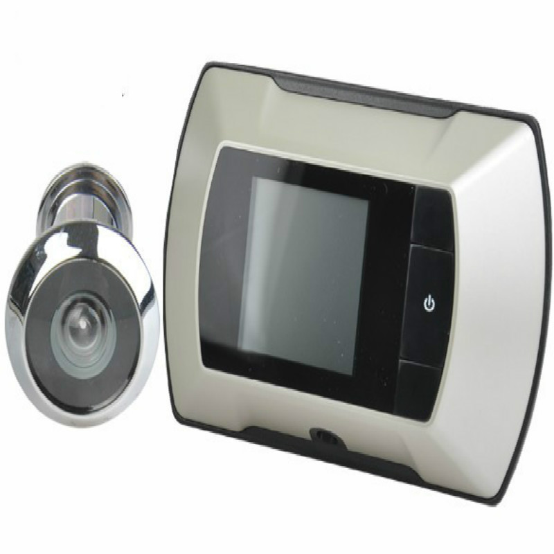 2.4 Inch 300000 Pixels Video Eye Peephole Door Camera 100 Degree Widen Viewing Angle Electronic Eye