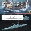1/700 Alemanha Lu Zuo HMS 1916 Edição Montagem Modelo Montar Brinquedos