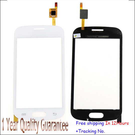 For Samsung Galaxy Trend Lite S7390 Touch Screen S7392 Outer Panel Front Digitizer Free Shipping Black&White,Tested Original new
