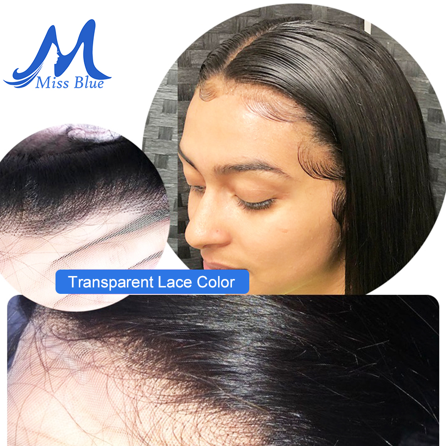 Image 5 - Missblue Virgin Brazilian Body Wave Human Hair Bundles With Closure 32 36 38 40 inch 3 Bundle With 13x4 Transparent Lace Frontal-in 3/4 Bundles with Closure from Hair Extensions & Wigs