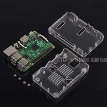 Raspberry Pi 2 Case Raspberry Pi B+ Case Black Case Box Enclosure for Raspberry Pi 2 Model B and Raspberry Pi B+ (Transparent)