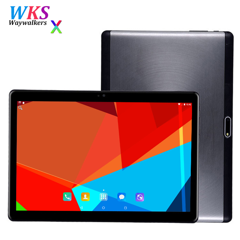 Free shipping 10 inch 3G 4G FDD LTE tablet pc Android 7.0 4GB RAM 64GB ROM octa core 1280*800 IPS stmart tablets pcs MID 10 10.1