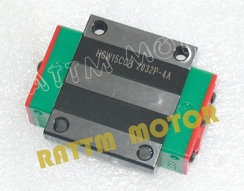 ФОТО 2PCS HIWIN Linear carriage HGW20CA Flange blocks