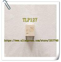 50 pçs/lote original Novo TLP127 P127 SOP4 SMD Toshiba opto acoplador