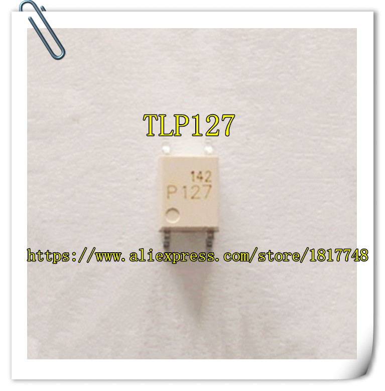 50PCS/LOT New Original  TLP127 P127  SOP4  SMD Toshiba Opto Coupler
