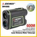 SNDWAY заводской выход портативный охотничий лазер для гольфа 600 м 7X25 цифровой дальномер монокуляр SW-600S