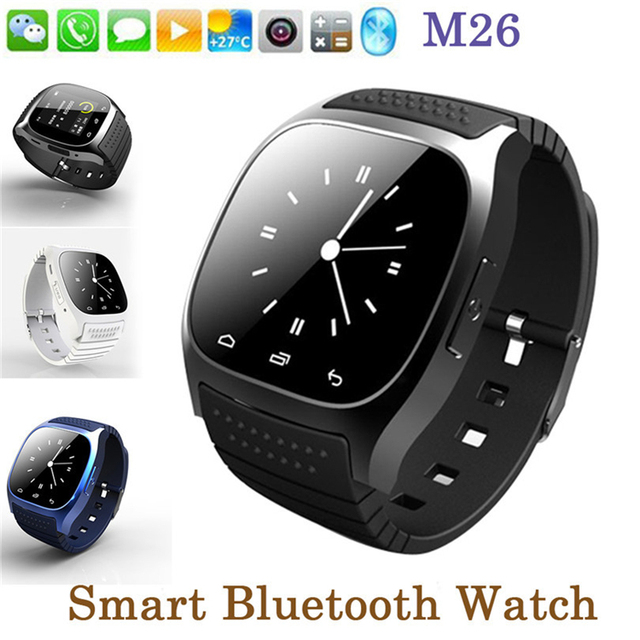 Usable Bluetooth Devices M26 Clock Smart Watches Android Social App / Call  Reminder Smartwatch for Samsung for Xiaomi-in Smart Watches from Consumer