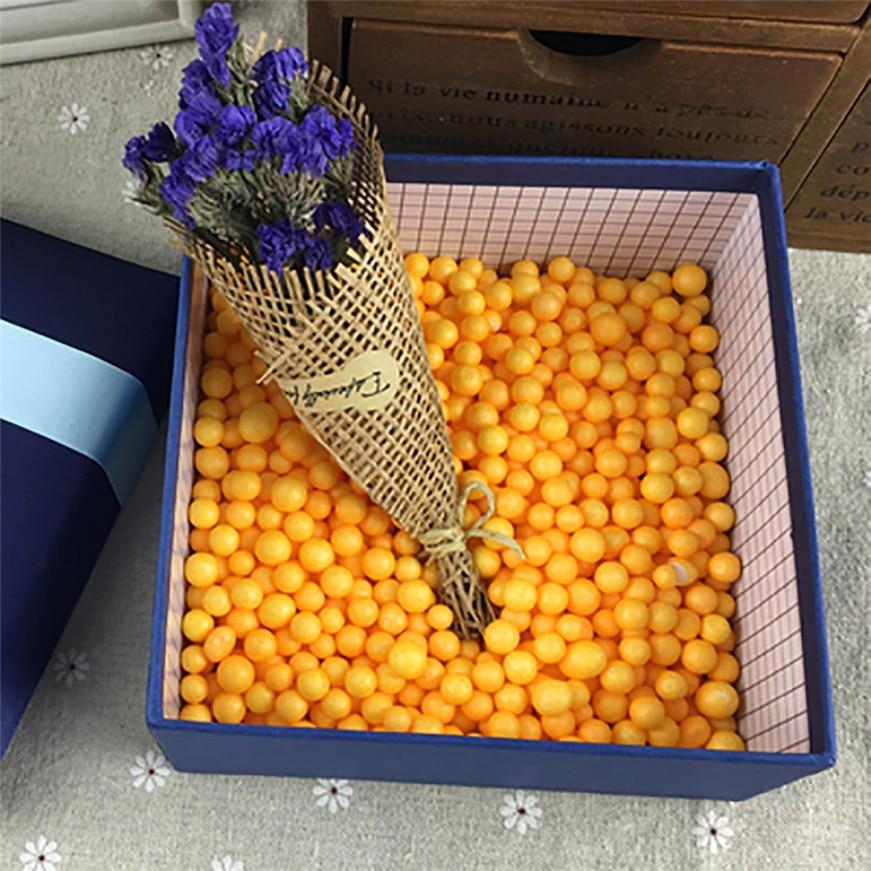 Sozzy DROPSHIPPING1 pack DIY Lots Assorted Colors Crafts Polystyrene Styrofoam Filler Foam Mini Beads Balls Gift Fun