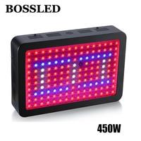 BOSSLED 450w LED Grow Light For Medical Flower Plants Vegetative And Flowering Stage Full Spectrum Led