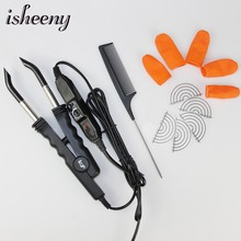 Professional Hair Extension Connector L-618 Adjustable Hair Extension Fusion Iron Tool For U/V/Flat Tip Human Hair Extensions