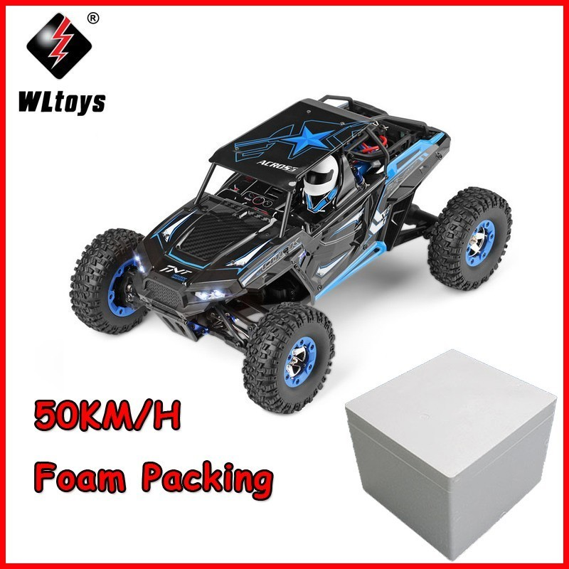 Super Power RC Car 12428-B 1:12 2.4G 4WD 50KM/H electric Polaris Remote Control Climbing Off-road Vehicle High Speed RC Car toy wltoys 12428 12423 1 12 rc car spare parts 12428 0091 12428 0133 front rear diff gear differential gear complete