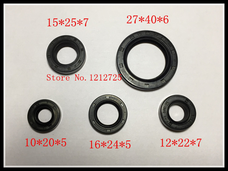 Motorcycle engine seal ring Duke HJ125K-2 GN125 GS125 Engine oil seal GN 125 GS 125 Engine oil seal image