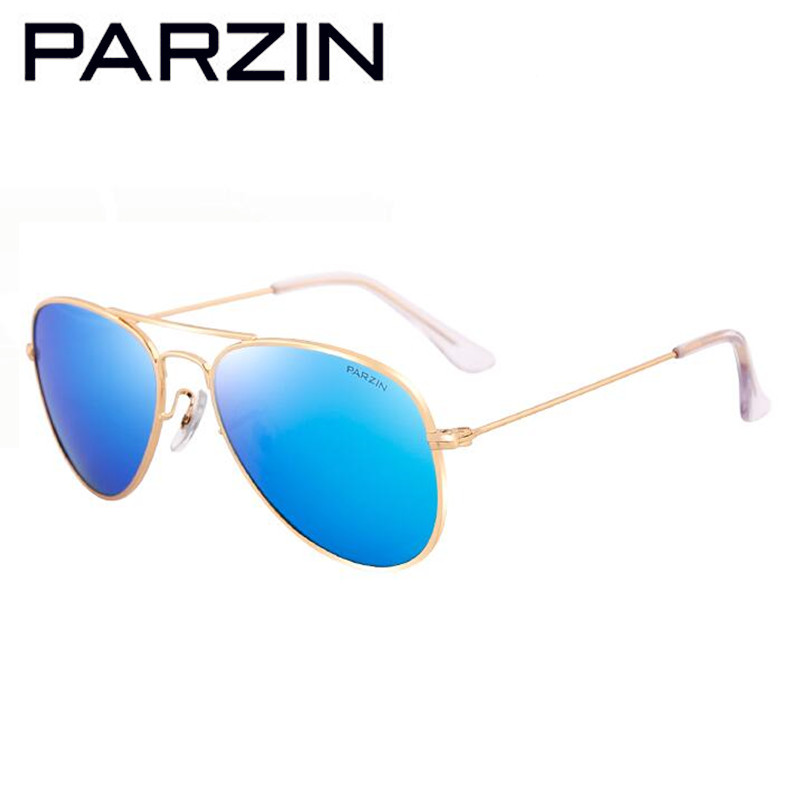 Parzin 4-12 Old Kids  Sunglasses Polarized Child Sunglasses Boy Girl Sun Glasses Gafas De Sol With Case 8066 new women s sunglasses metal frame reflective coating mirror flat panel lens brand designer sun glasses for women oculos de sol