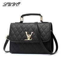 2018 Fashion Leather Small V Style Luxury Handbags Women Bags Designer Crossbody For Famous Brands Messenger Bags Louis Bolsa