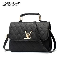 2018 moda couro pequeno v estilo bolsas de luxo bolsas femininas designer crossbody para marcas famosas sacos do mensageiro louis bolsa