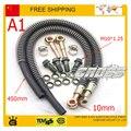 125cc 140cc 150cc 160cc dirt pit monkey bike atv quad accessories Modified motorcycle radiator oil cooler hose pipe M10 screw