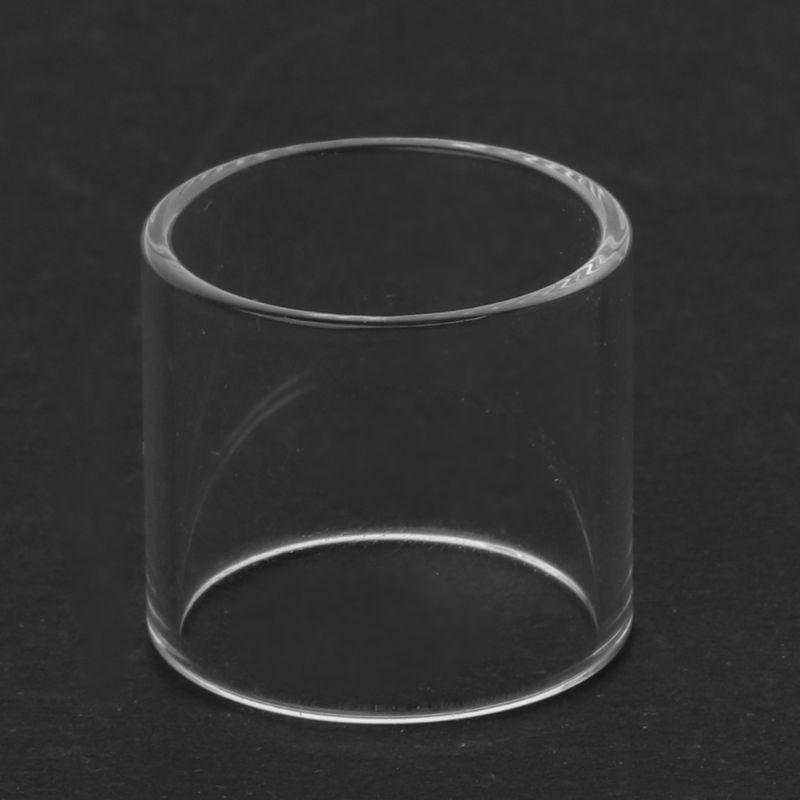 Clear Straight Glass Tube Fatboy Glass Tank For Vape Pen 22 Vaporizer Atomizer Electronic Cigarette Vape Accessories
