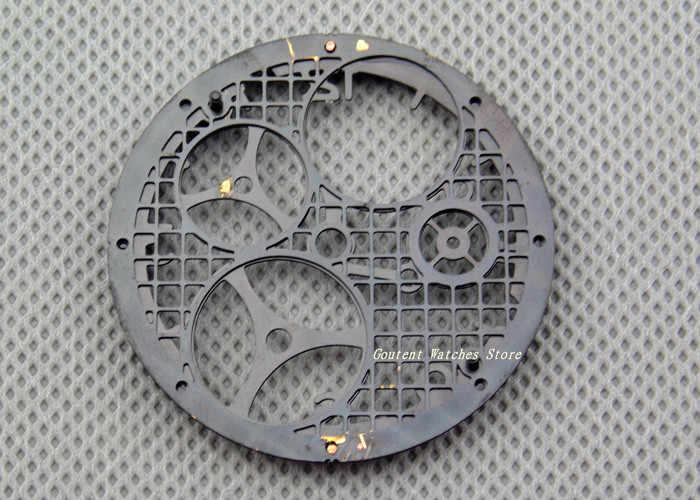 37,5mm hueco reloj parte reloj ajuste ETA 6497 Gaviota st36 Wovement reloj accesorio