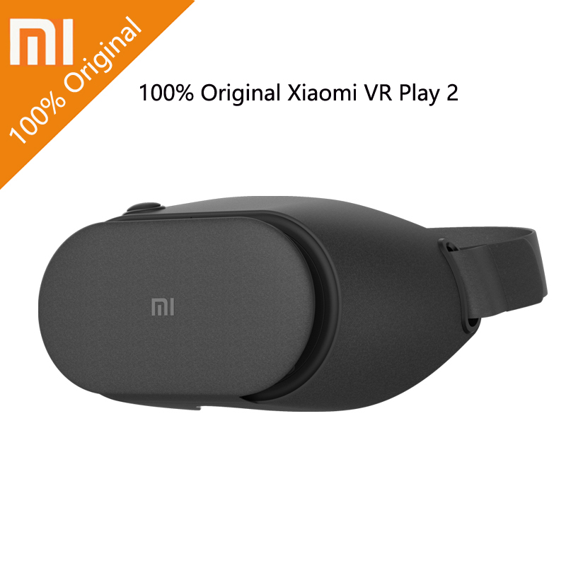 Newest Xiaomi VR Play 2 Play2 Original Mi VR Virtual Reality Glasses 3D Glasses For 4.7-5.7 inch Smart Phones in stock
