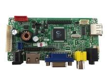 HDMI + VGA + AV + Audio controller board LCD tienen precarga 23 tipos de firmware con diferentes resolución