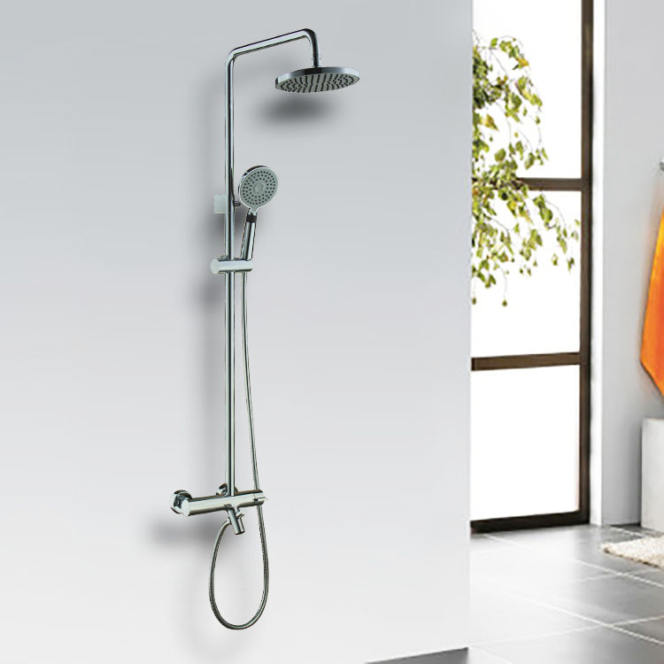 Snyder real smart thermostats rain shower suit copper shower the whole set with water rotatable manufacturers, wholesale