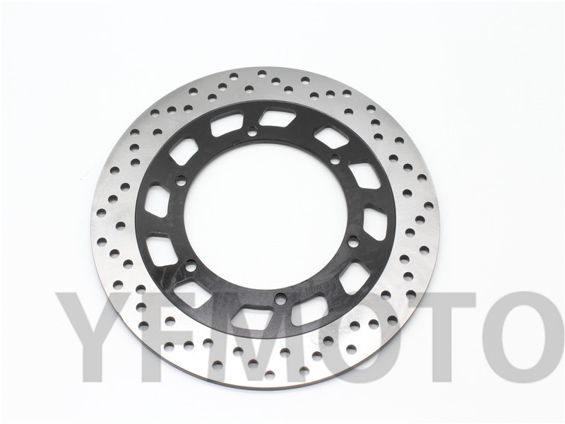 Motorcycle Rear Brake Disc Rotor For YA MAHA GTS 1000 FJ1100 FJ1200 FJR1300 XVS1100 XV1700 V-Max 1200 Rear motorcycle rear brake pads disc for yamaha tdm900 xvs950 fjr1300a fjr1300 xvs1300 xv1700 v max xv1900a xv1900 midnight star