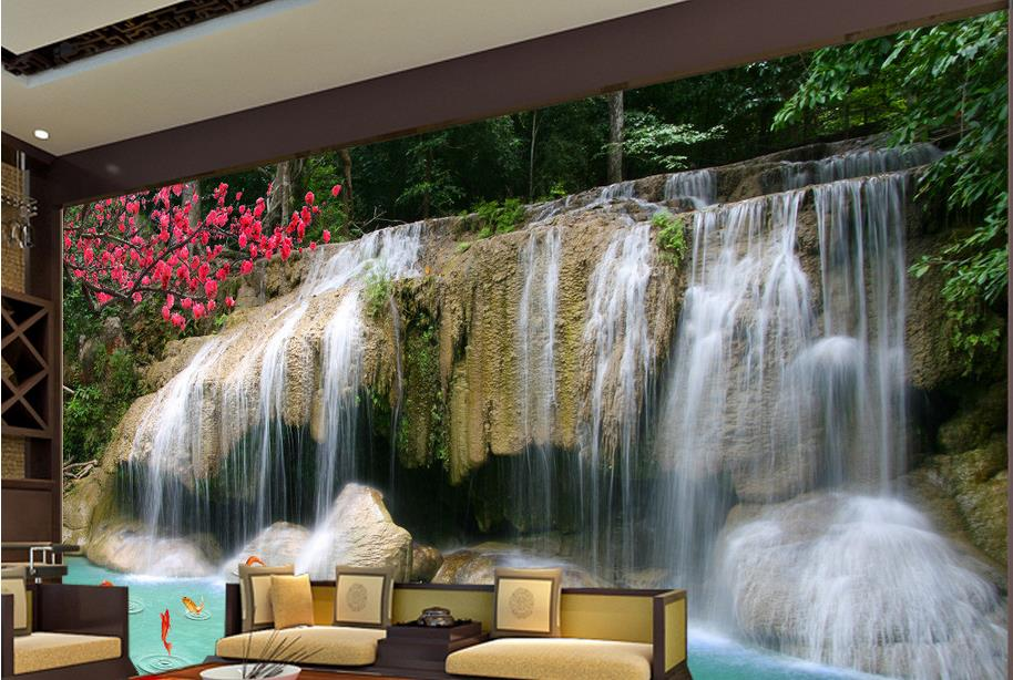 Online buy wholesale bamboo wallpaper mural from china for Bamboo mural wallpaper